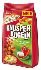"Lorenz Snack-World Saltletts Knusperkugeln ""Paprika & Cream"""