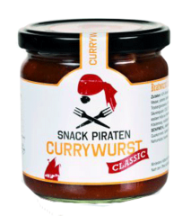 "Snack Piraten Currywurst ""Classic"""