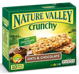 "Nature Valley Crunchy ""Oats & Chocolate"" 5er Pack"