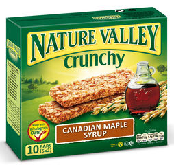 "Nature Valley Crunchy ""Canadian Maple Syrup"" 5er Pack"