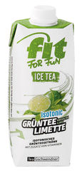 "TeeGschwendner FIT FOR FUN Ice Tea ""Grüntee Limette"""