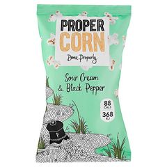 Sour Cream & Black Pepper Popcorn - Propercorn