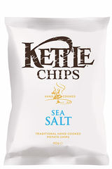 "KETTLE® Chips ""Sea Salt"""