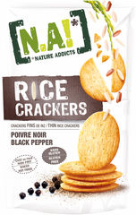 "N.A! Rice Crackers ""Black Pepper"""