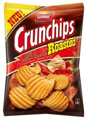 "Lorenz Snack-World Crunchips Roasted ""Chili & Grilled Cheese"""