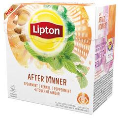 "Lipton Herbal Tea ""After Dinner"""