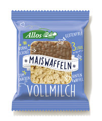 "Allos Maiswaffeln ""Vollmilch"""