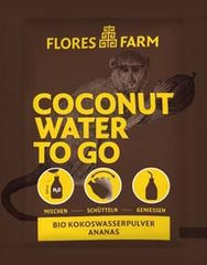 "Flores Farm Coconut Water To Go ""Ananas"""