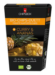 myCHIPSBOX Bio-Chips-Duett Curry & Ananas