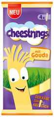 Cheestrings mit Gouda