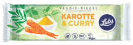 Lubs Veggie-Riegel Karotte & Curry