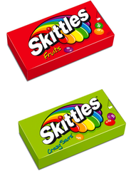 Skittles Fruits & Crazy Sours