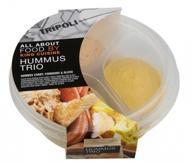King Cuisine: Hummus Naturel und Hummus Trio