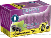 Goldmännchen-Tee Cocktail Tea Kir Royal