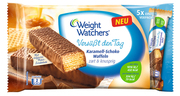 Weight Watchers Versüßt den Tag Karamell-Schoko Waffeln