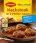 Maggi fix & frisch Hacksteak in 3-Pfeffer-Sauce