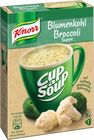 "Knorr Cup a Soup ""Blumenkohl Broccoli Suppe"""