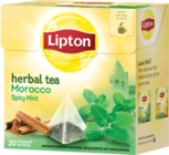 "Lipton Herbal Tea ""Morocco Spicy Mint"""