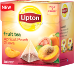 "Lipton Fruit Tea ""Apricot Peach Guava"""
