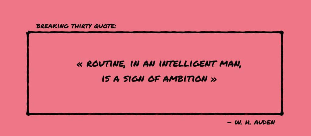 Quote Auden