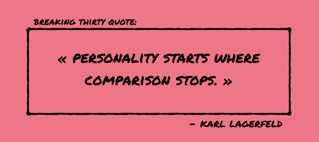 Quote Lagerfeld