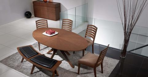 Conan Janet 6 Piece Dining Set