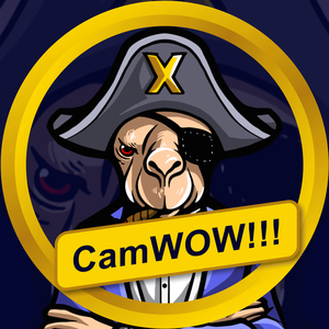 Clash of Clans CamWOW_GoldenX Official Logo