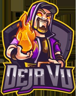Clash of Clans Deja Vu Gaming Official Logo