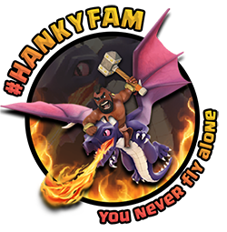 Clash of Clans HankyFamTV Official Logo