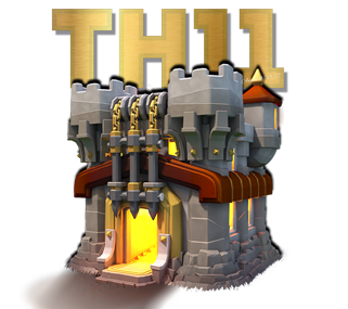Clash of Clans TH11 Community Official Logo