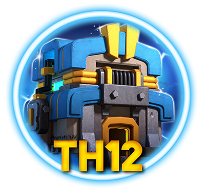 Clash of Clans TH12 Community Official Logo