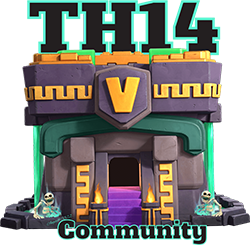 Clash of Clans TH14 Community Official Logo