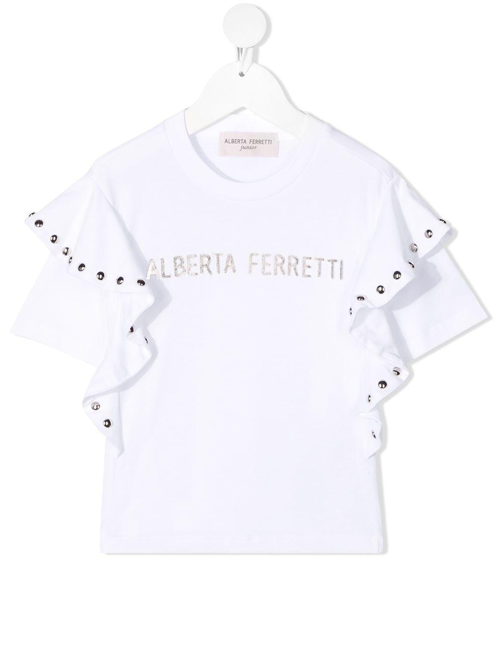 T-SHIRT BIANCA ALBERTA FERRETTI KIDS | T-shirt | 025342002#