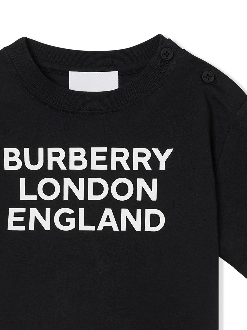 T-SHIRT NERA BURBERRY KIDS | T-shirt | 8028812A1189