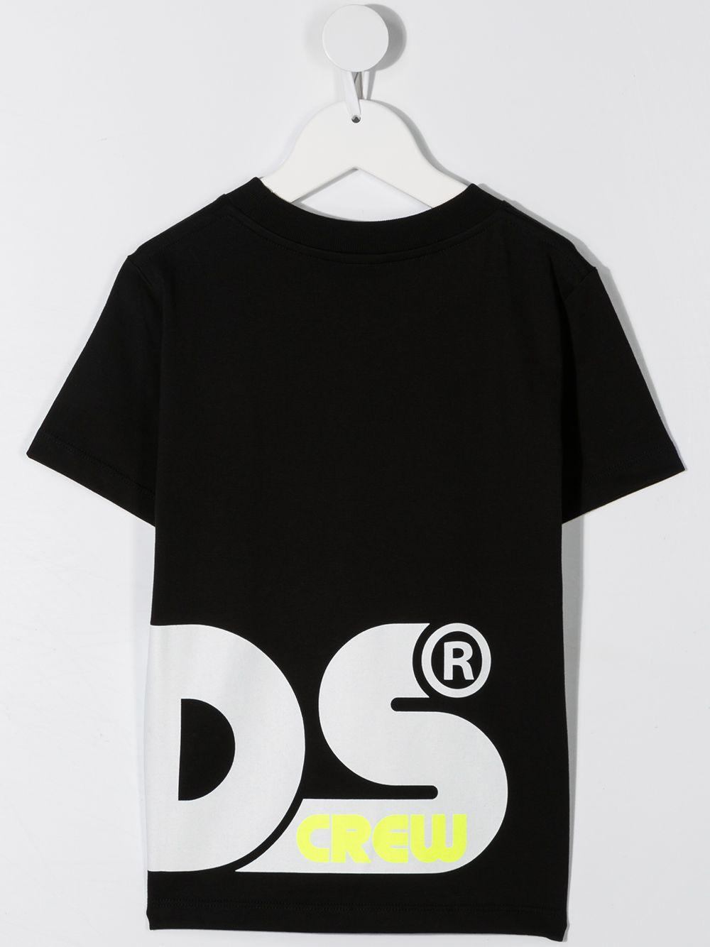 t-shirt nera GCDS KIDS | T-shirt | 025892110#