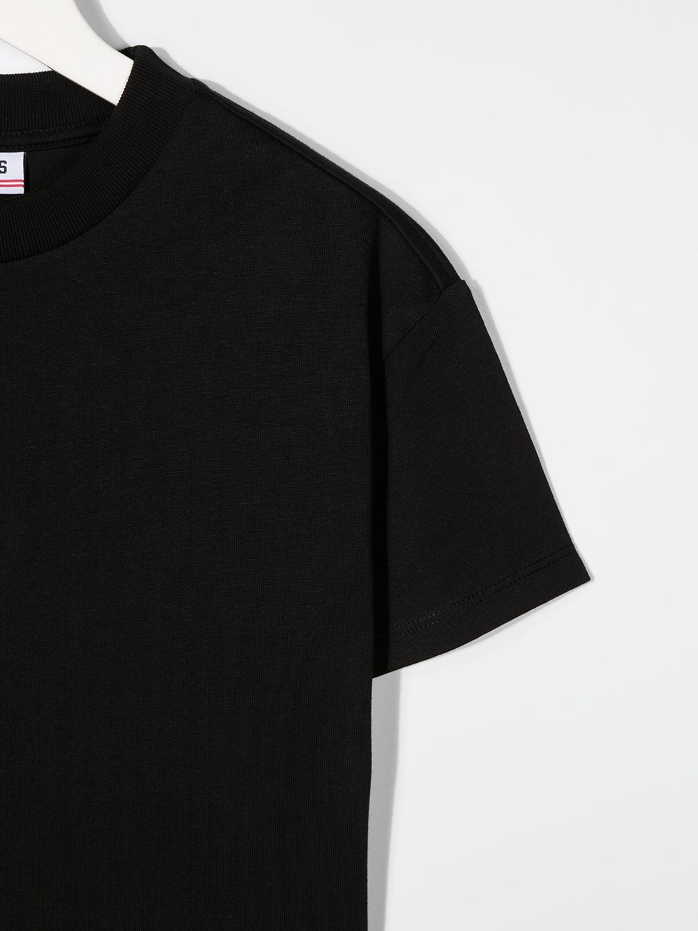 t-shirt nera GCDS KIDS | T-shirt | 026164110#