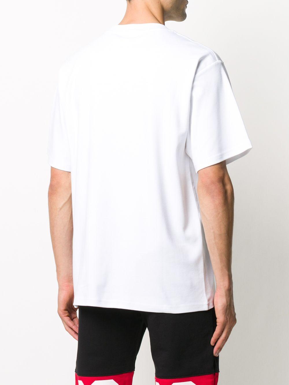 T-SHIRT BIANCA GCDS | T-shirt | FW21M02005601
