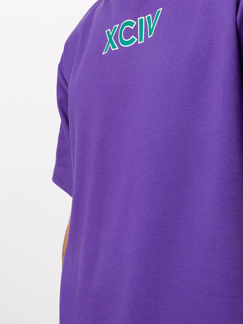 T-SHIRT VIOLA GCDS   T-shirt   FW21M02009911