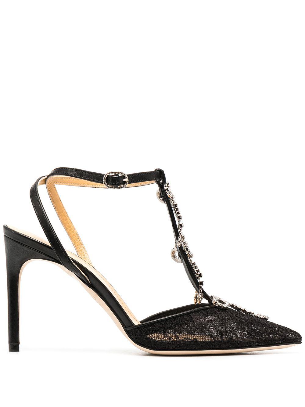 sandalo nero GIANNICO | Scarpe | GI0149.90CP30190018