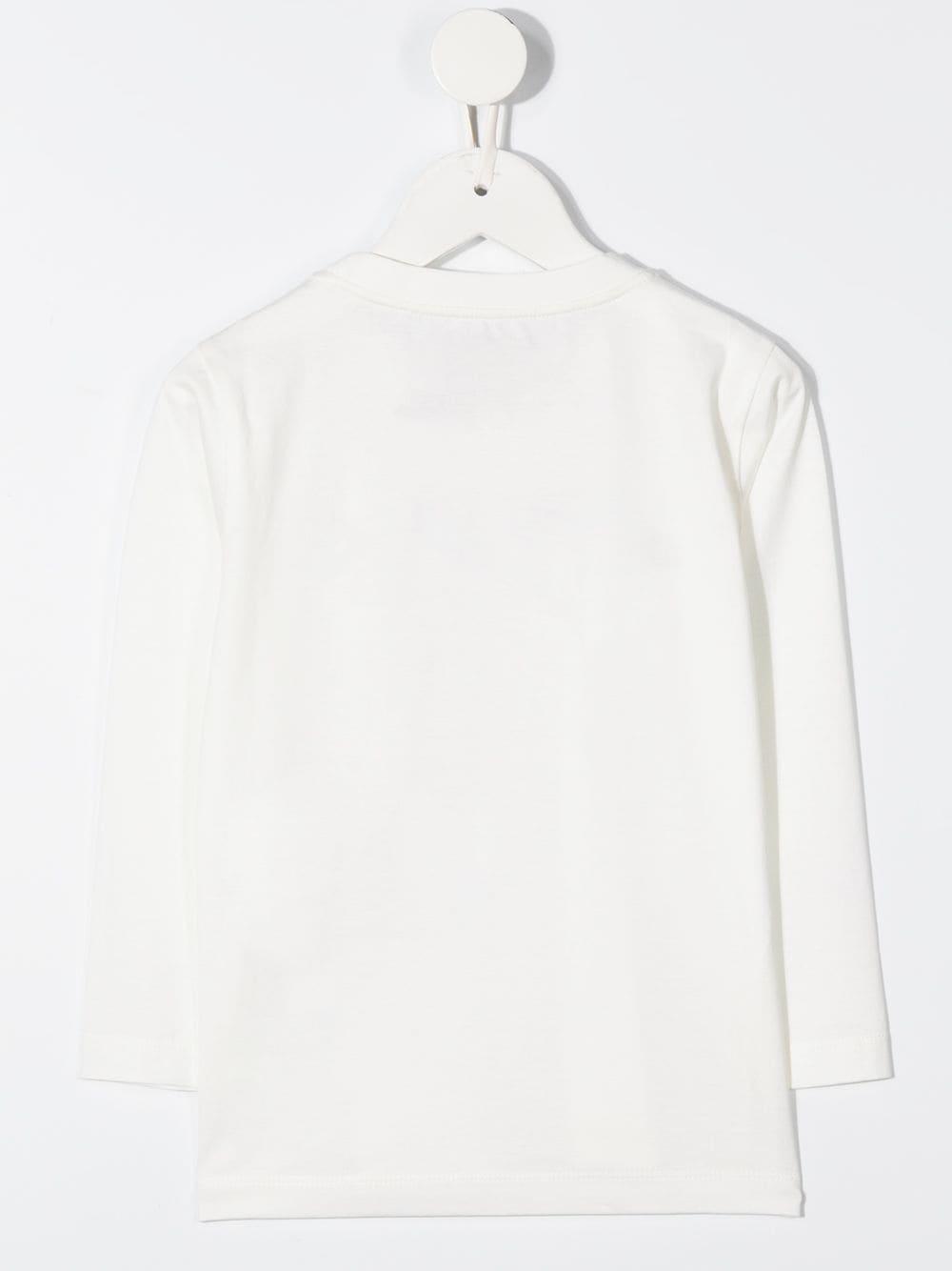 MAGLIA BIANCA GIORGIO ARMANI KIDS   T-shirt   6H4TJN1JTUZ101#