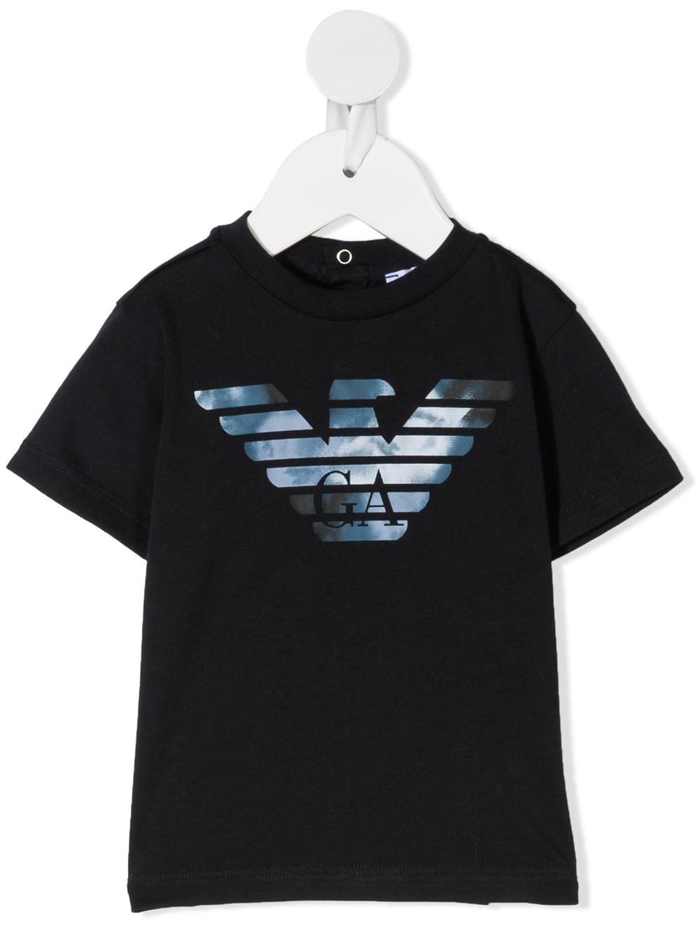 T-SHIRT BLU GIORGIO ARMANI KIDS   T-shirt   6HHTA91JDXZ920