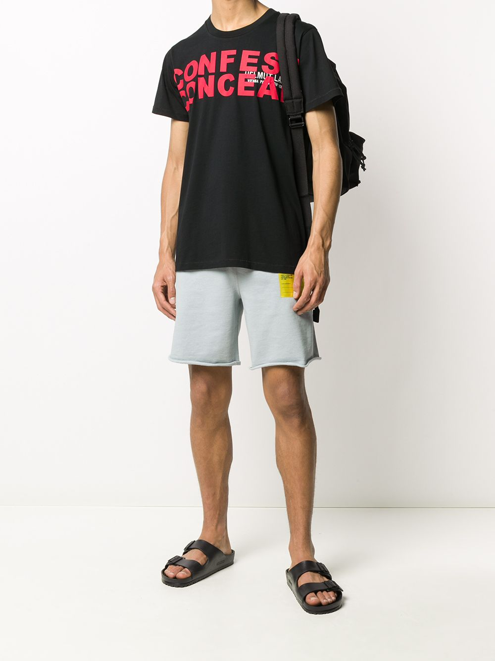 T-SHIRT NERA HELMUT LANG | T-shirt | K05DM525YVM