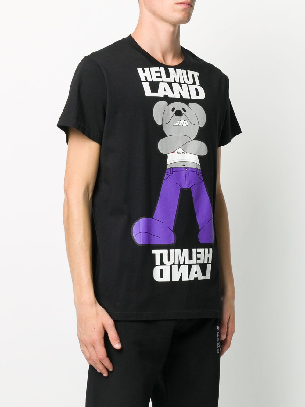 T-SHIRT NERA HELMUT LANG | T-shirt | K06DM517YVM
