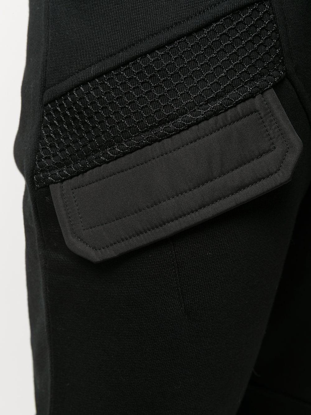 PANTALONE NERO LES HOMMES | Pantalone | LJJ101756G9000