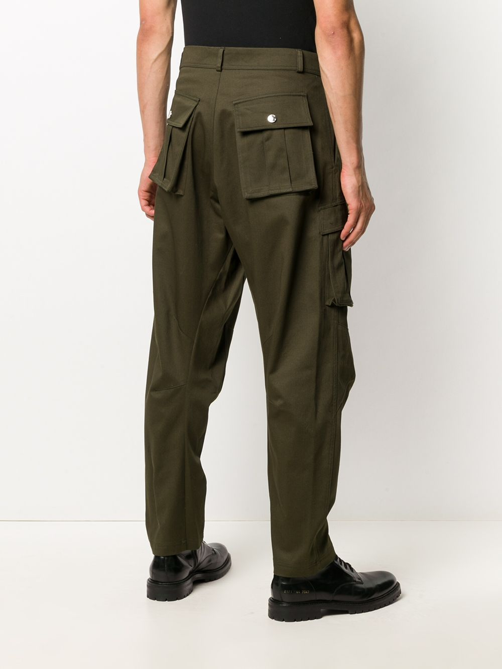 PANTALONE OLIVE LES HOMMES   Pantalone   LJP502355U3100