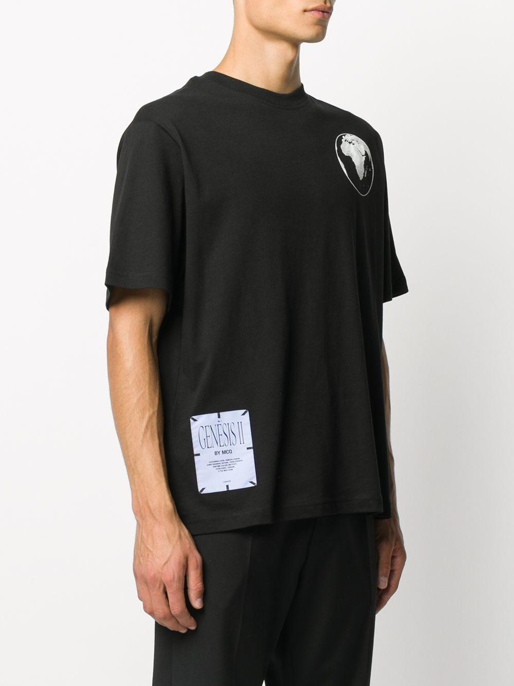 T-SHIRT NERA MCQ | T-shirt | 624833RPJ461000