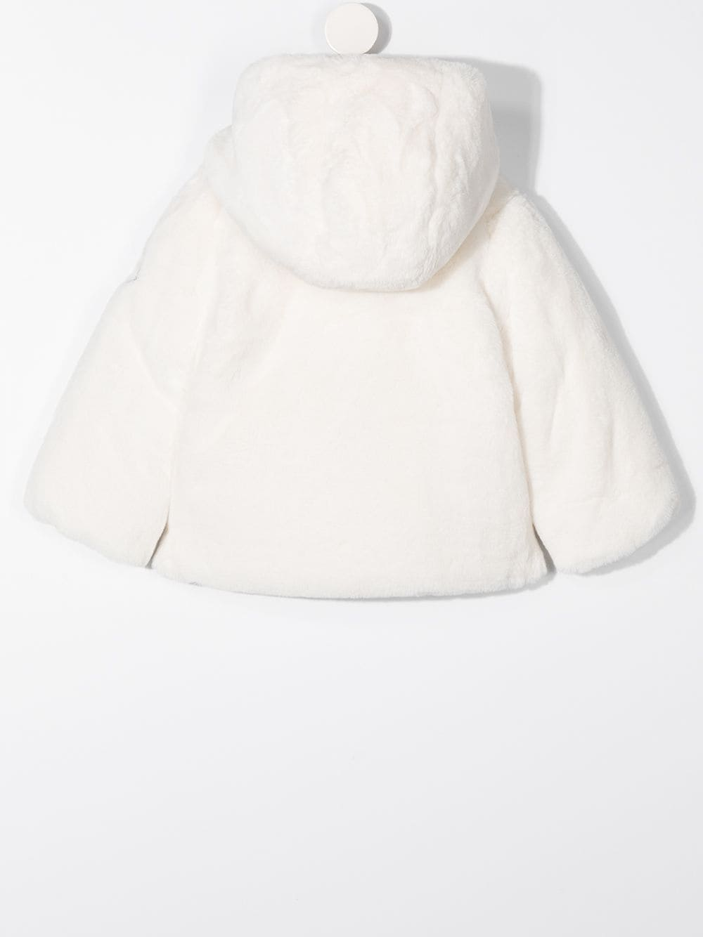 pelliccia bianca MONCLER KIDS | Giubbino | 1A5371054AQY034