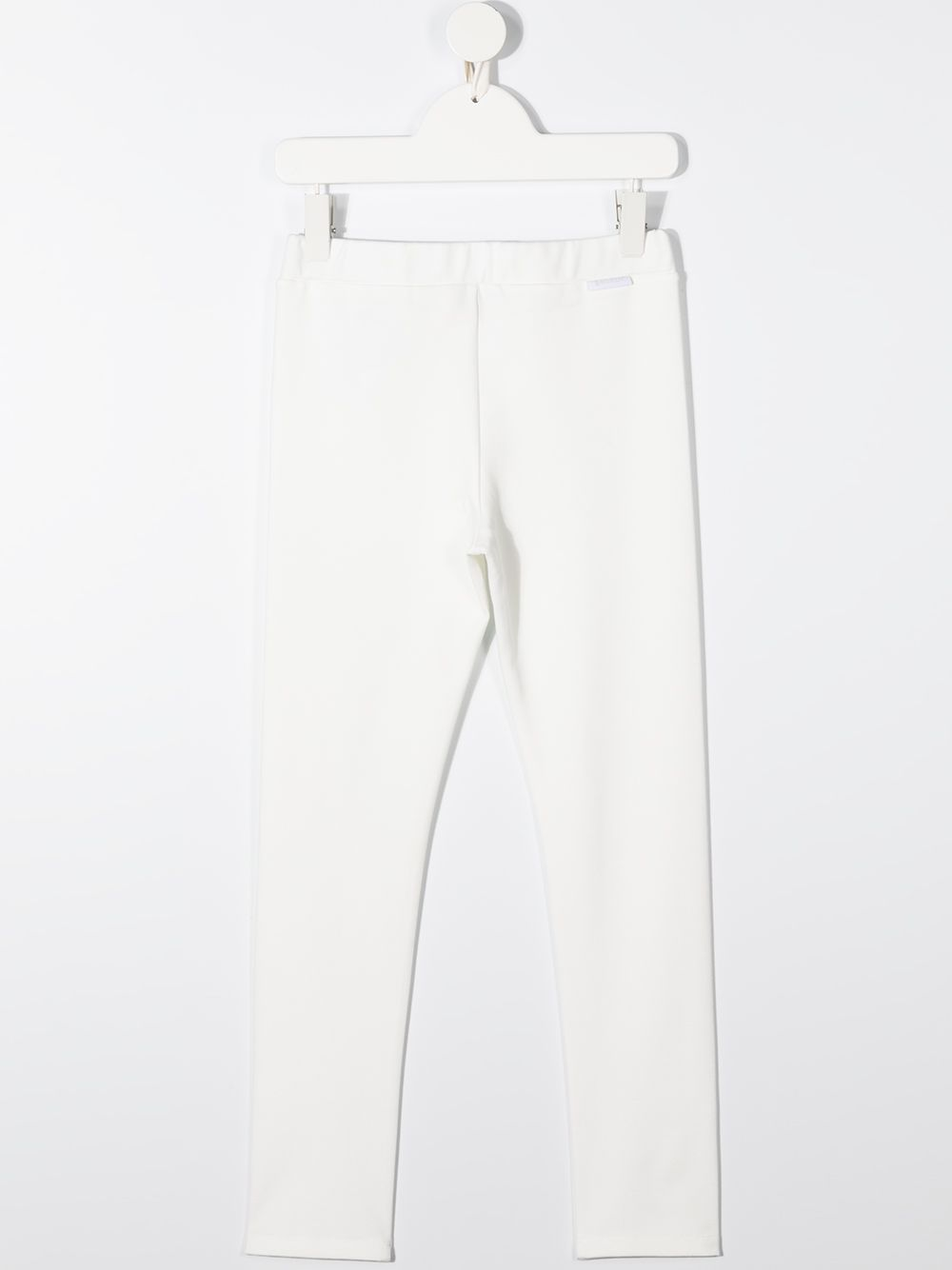 pantalone bianco MONCLER KIDS | Pantalone | 8H72110829F4034#