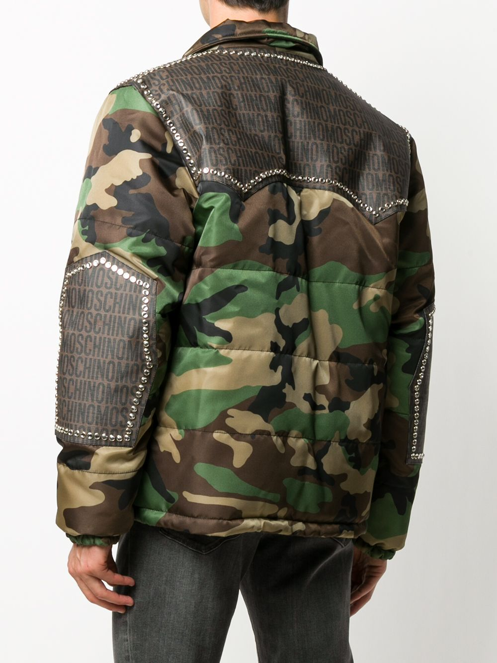GIACCA CAMOUFLAGE MOSCHINO | Giacca | 06085255A1888