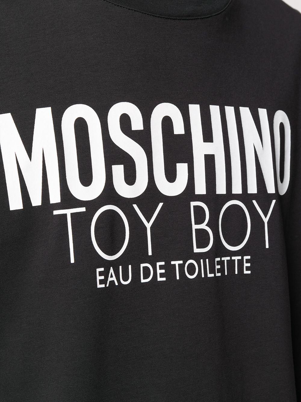 T-SHIRT NERA MOSCHINO | T-shirt | 07037038A1555